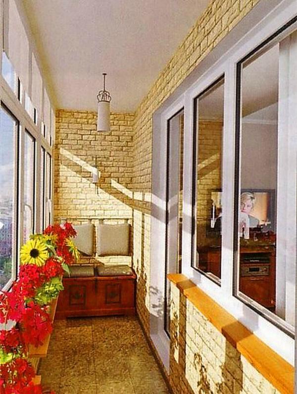 Интерьер балкона своими руками фото